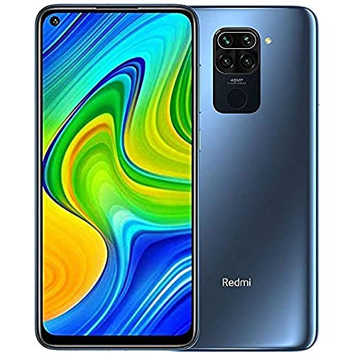 "Xiaomi Redmi Note 9 Smartphone 6.53"" FHD+ Display, 3GB/64GB, 4G, Dual Sim, Midnight grey"