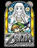 Legend Of Zelda Coloring Book: Special Adults Coloring Books! Relaxation