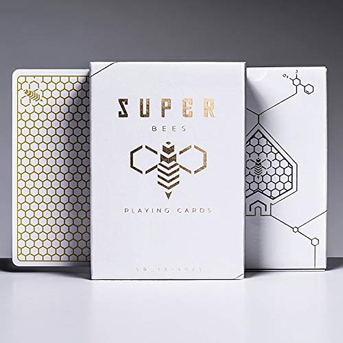 SOLOMAGIA Super Bees Playing Cards - Deck of Cards