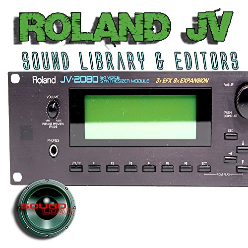 Best Prices! for ROLAND JV-1010/1080/2080 Factory & New Created Sound Library & Editors on CD or dow...