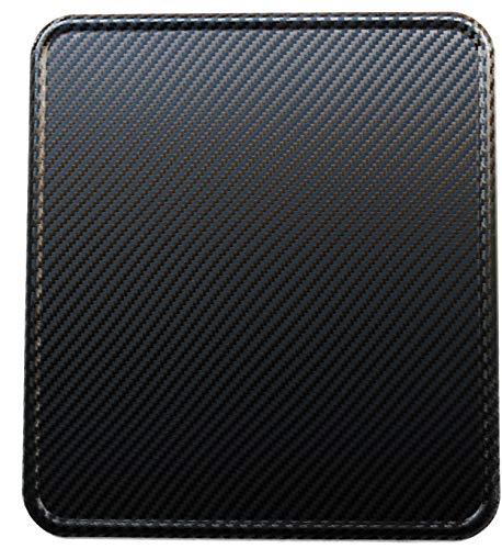 Urbanii Motorrad Kennzeichenverstärker Carbon Optik Schwarz ALU 180 x 200 mm