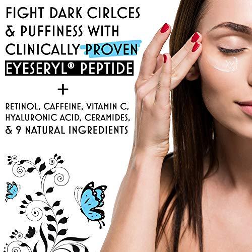 51TZb2WGw4L - Eye Cream Anti Aging Bags & Dark Circle - Under Eye Cream - Dark Circles under Eye Treatment for Women / Men - Eye Cream for Dark Circles and Puffiness - With Retinol, Caffeine, Vitamin C, by Sofinity