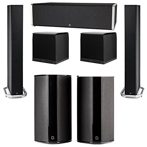 Great Price! Definitive Technology 5.2 System with 2 BP9060 Tower Speakers, 1 CS9040 Center Channel ...