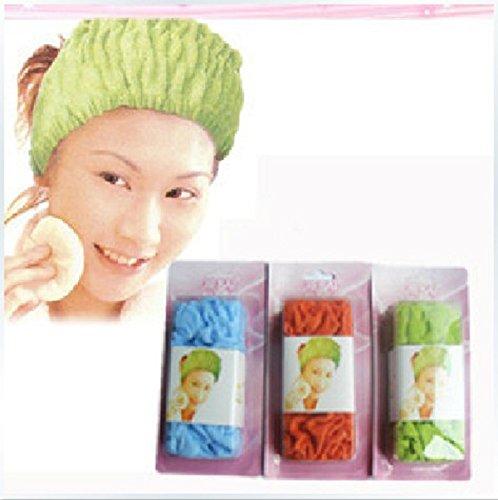 Weich Dehnbar Haarschmuck Stirnband Bandeaukleider Rundschal für Kosmetisch Kosmetik Waschen Baden