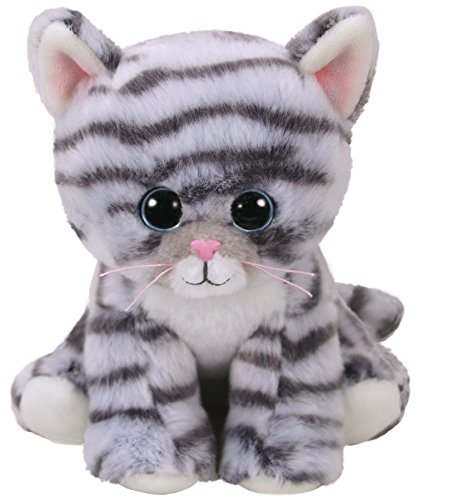 TY- Beanie Babies Millie, gato, Color gris, 15 cm (United Labels Ibérica 42304TY) , color/modelo surtido
