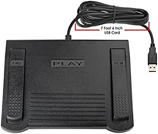 USB Foot Pedal for use with VLC Media Player