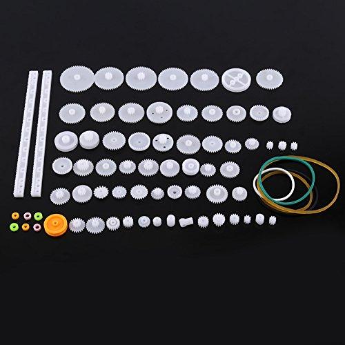 Set di ingranaggi in plastica Set di pulegge per cinghie dentate Set di ingranaggi corona Set di ruote dentate per automobili<br/>(34kinds) (75kinds)