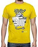 latostadora - Camiseta Kit de Traducción · para Hombre Amarillo limón L