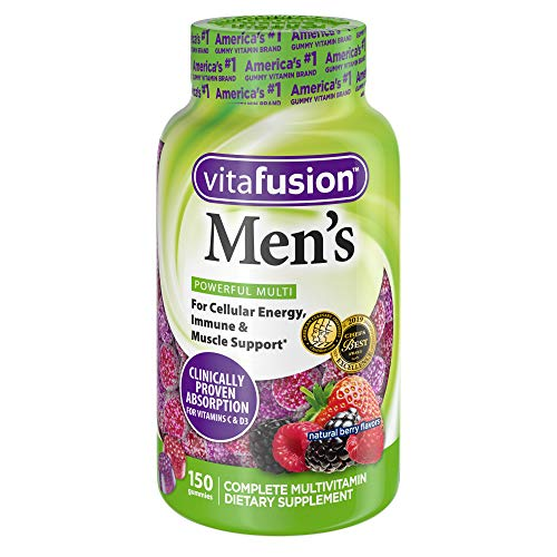 Vitafusion Men's Gummy Vitamins, 150 Count Multivitamin for Men