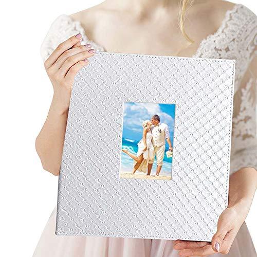 Wedding Photo Album 4x6 600 Photos - Elegant Leather Photo Album for...