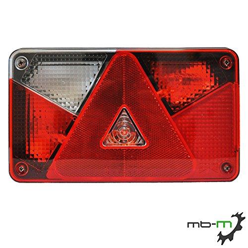 MBM–ASPÖCK Multipoint 5Licht kam inkl. Leuchtmittel 5pol. Bajonett