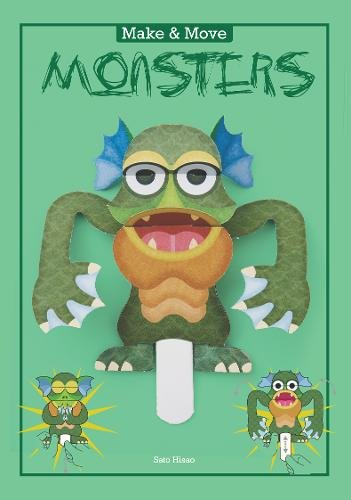 Make and Move: Monsters: 12 Paper Puppets to Press Out and Play (Parionettes)
