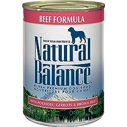 Natural Balance Ultra Premium Canned Dog Food