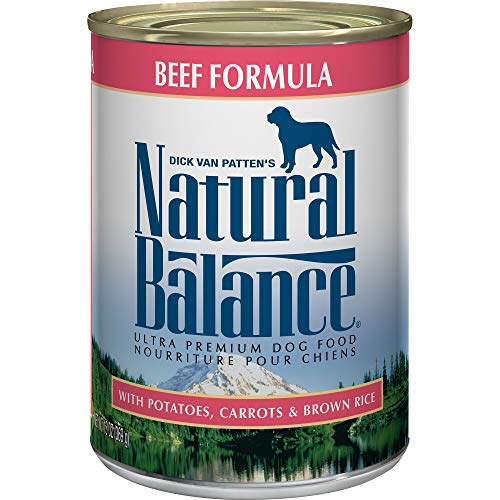 Natural Balance Ultra Premium Wet Dog Food, Beef...