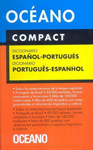 Océano Compact. Diccionario Español-Portugués / Português-Espanhol (Diccionarios) (Spanish Edition)
