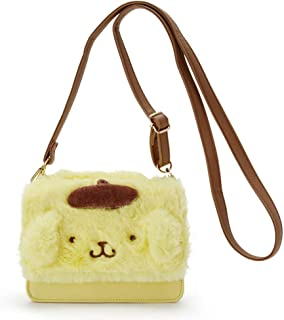 YOURNELO Girl's PU Leather Kitty Melody Mini Leisure Shoulder Bag Crossbody Bag Backpack (Pom Pom Purin 2)