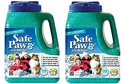 Safe Paw Non-Toxic Ice Melter Pet Safe, 8 lbs. 3 oz - Pack of 2