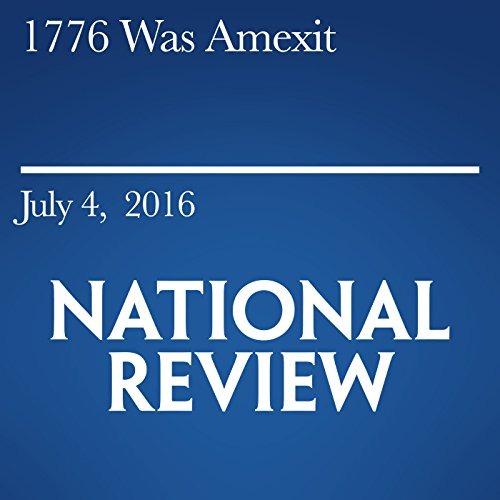 1776 Was Amexit audiobook cover art