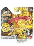 Figurine Jurassic World Camp Cretaceous Snap Squad 2 inch Fun Chomp Figure Parasaurolophus (Gold/Pink)