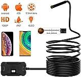 MRWW 5,5 mm de la cámara endoscopio endoscopio cámara inalámbrica WiFi HD 1080P de la Serpiente Impermeable para iOS y Android Smartphones/Tablets