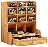 YYANG Organizador De Escritorio Multi-Funcional DIY Pen Pencil Holder Escritorio Estacionario De Oficina En Casa Suministros De Almacenamiento Rack Box