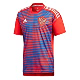 adidas CF1555 Maillot Homme, Rouge/Poblue, FR : M (Taille Fabricant : M)