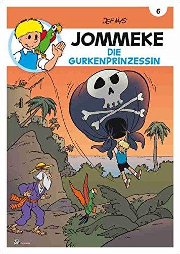 Jommeke 6 - Die Gurkenprinzessin (Comic)