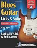 Blues Guitar Licks & Solos Book with Video & Audio Access
