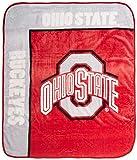 Ohio State Buckeyes 'School Spirit' Raschel Throw Blanket, 50' x 60'