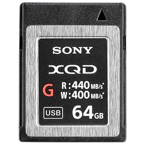 Sony QDG64F/J XQD-Flash-Speicherkarte (64 GB, XQD, 440 Mb/s)
