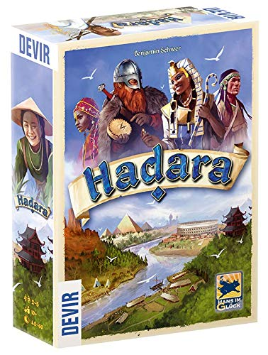 Devir - Gioco da tavolo Hadara, Multicolore (BGHADARA)