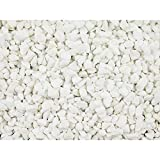 Chas Long and Sons Polar White Marble Chippings 25 Kilo Bag