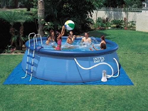 Intex - Piscina Easy Set C/Filtro Y Escalera 13.200L: Amazon.es: Jardín