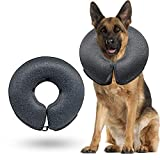 Best Dog Cones - WONDAY Dog Cone Collar Soft, Pet Recovery Inflatable Review