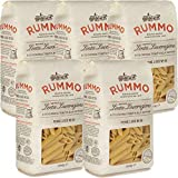 Penne Lisce   Rummo   5kg Maxi Formato   Pasta   Grano 100% Italiano   Confezione 10 Pacchi da 500gr   Idea Regalo