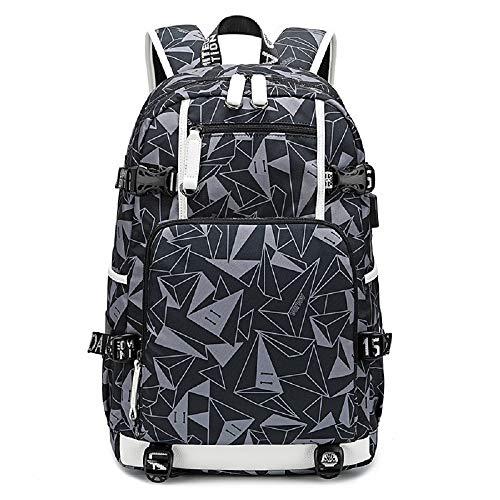 Alla Moda Cool rugzak met hoge capaciteit voor reizen, dagrugzak, casual, laptoprugzak Dell'Alliev