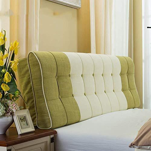 JKL J-Almohada Tapizado Triangular cuña del Amortiguador, Cabecera de Lectura del Respaldo de la Almohadilla, Bolsa Soft extraíble Wash, Respaldo Posicionamiento Soporte Almohada (Size : 1.8M)