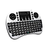 Rii i8+ Mini Wireless 2.4G Backlight Touchpad Keyboard with Mouse for...