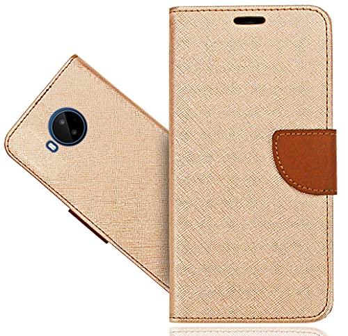 Cover per Nokia C20 Plus, Case Portafoglio Custodia in Pelle Guscio Telefono Chiusura Magnetica per Nokia C20 Plus