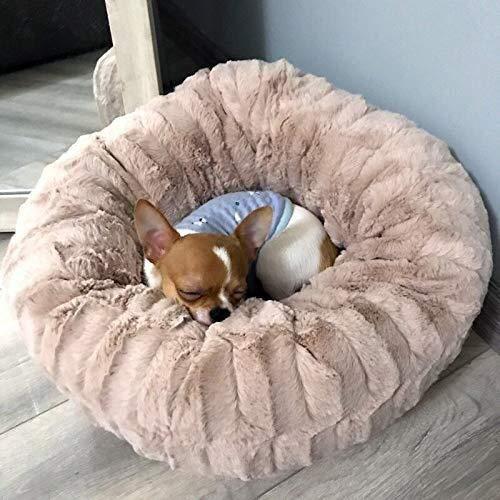 XFSE casa Perro Casa de Campo for Mascotas Perrera FashionPet Casa de Perro Cama Suave Gato Saco de Dormir Cachorros for Perros for Gruesos Perros de sueño Profundo cálido Perrera (d = 40 cm)