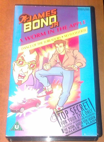 James Bond Junior - A Worm in the Apple [VHS]