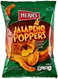 Herr's Jalapeno Poppers Cheese Curls 7 Oz (Pack of 3)