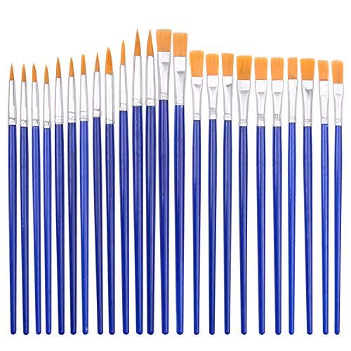 Ufmarine 24 pcs Paint Brushes for Kids Painting