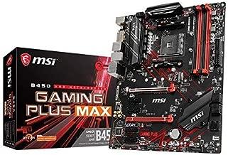 MSI Performance Gaming AMD Ryzen 2ND and 3rd Gen AM4 M.2 USB 3 DDR4 DVI HDMI Crossfire ATX Motherboard (B450 Gaming Plus Max)