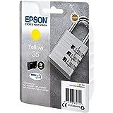 Epson 35 Serie Lucchetto, Cartuccia originale getto d'inchiostro DURABrite Ultra, Formato Standard, Giallo