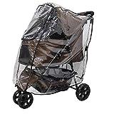 Cocoheart ペットカート用 レインカバー 雨・防寒対策 ペットバギー用レインカバー