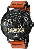 XericメンズHaloグラフ自動ブラックタン限定版腕時計