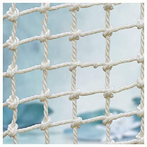 XXN Net Nylon,Stark und Verschleißfest Feste Ladung,Schwere Containerdecknetze Kinder und Erwachsene Strickleiter Spielzeug Klettern Baumschutz Balkongeländer Treppenzaun Sicherheitsnetz