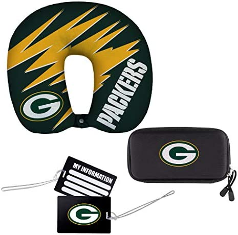 NFL Green Bay Packers 4 Piece Travel Set 13 x 3 x 12 product image