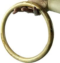 ZooBoo Wing Chun Rattan Ring - Martial Arts Wooden Tsun Siu Lum Kung Fu 9 inch